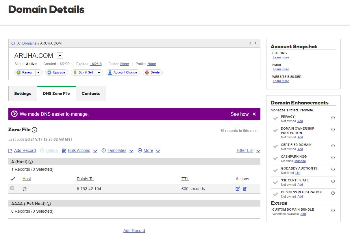 Setting up your domain name marketplace – Efty Blog