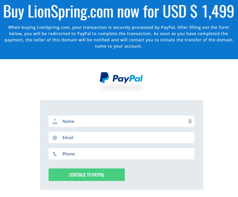 PayPal Efty integration 3
