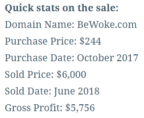 BeWoke.com Behind the Sale